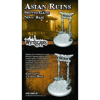 ASIAN RUINS 50MM WYRDSCAPES