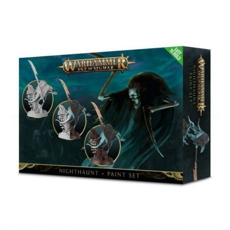 NIGHTHAUNT PAINT SET. ENG.SPA.PORT.LAT.ROM
