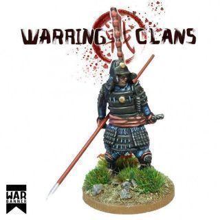 Samurai in Full Armour with Yari