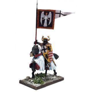Mounted Ordenstaat War Banner & Bearer