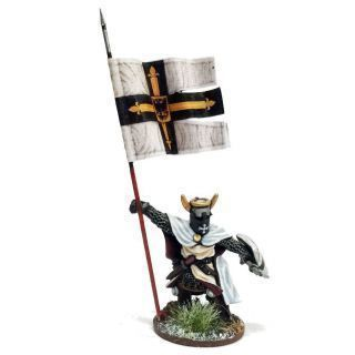 Foot Ordenstaat War Banner & Bearer