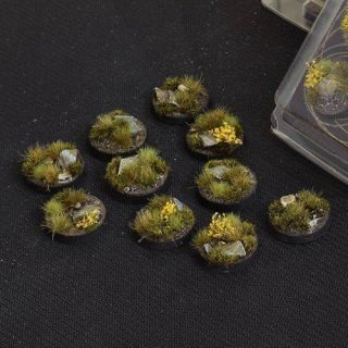 Highland Bases Round 25mm (x10)