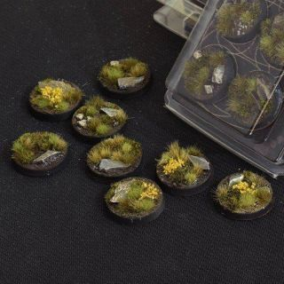 Highland Bases Round 32mm (x8)