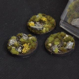 Highland Bases Round 50mm (x3)