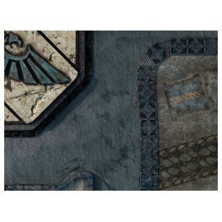 "KT Mat Imperial City -3- 22""x30"" Compatible with Warhammer, Warhammer 40K and other Wargames"