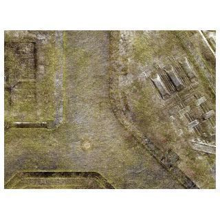 "KT Mat Imperial City Jungle -4- 22""x30"" Compatible with Warhammer, Warhammer 40K and other Wargames"