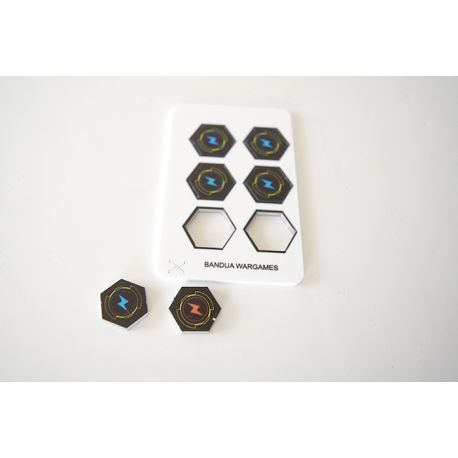 Energy Tokens - Full Color (6) - Both Sides
