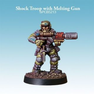 Shock Troop with Melting Gun