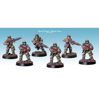 Shock Troops - Plasma Team