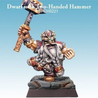 Dwarf with Two-Handed Hammer