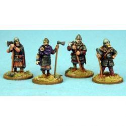 Anglo-Danish Huscarls Axemen Standing