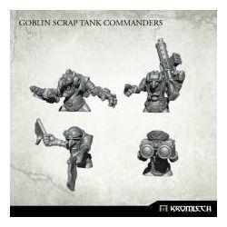 GOBLIN SCRAP TANK COMMANDERS
