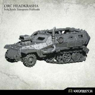 Orc Headkrasha, Iron Reich Transporta Halftrakk (1)