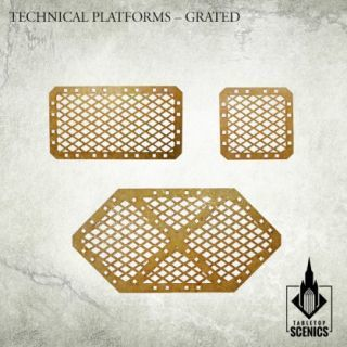 TECHNICAL PLATFORMS GRATED