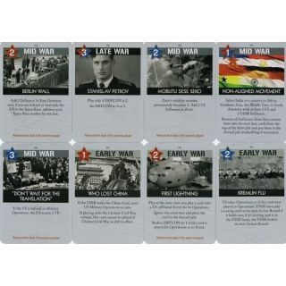 Twilight Struggle Card Deck (INGLES)