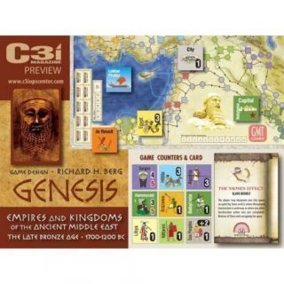 Genesis - Mounted Map board (INGLES)
