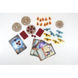 SILVER Keyforge Compatible Token Set