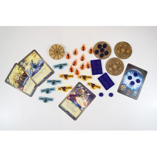 GOLD Keyforge Compatible Token Set