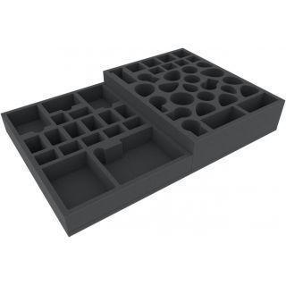 Feldherr foam tray set for Warhammer Quest: Blackstone Fortress board game box
