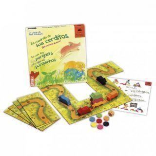 La Cuadrilla de los Cerditos - juego de estrategia y equilibrio