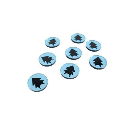 Comand Force Tokens Blue