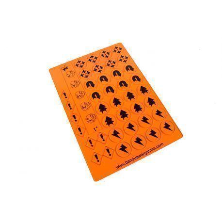 Comand Force Tokens Orange