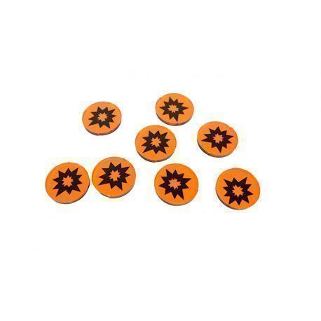Comand Force Tokens Orange