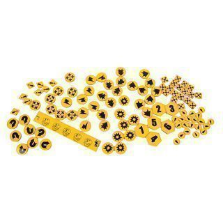 Comand Force Tokens Yellow