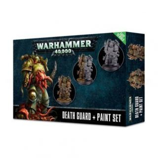 DEATH GUARD PAINT SET (MULTILANGUAGE)