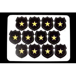 Cops Hero Tokens (12)