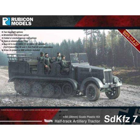 SdKfz 7 Artillery Tractor