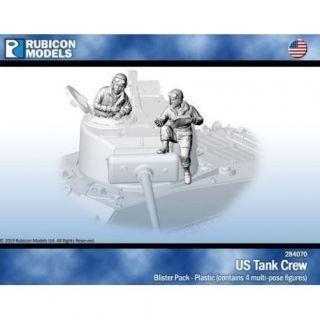 US Tank Crew - Plastic Figures