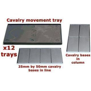 Plastic Cavalry Movement Trays