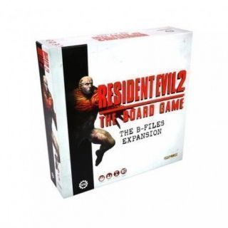 RESIDENT EVIL 2: THE BOARD GAME - B-FILES EXPANSION (INGLÉS)