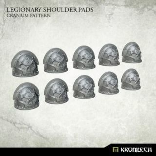 LEGIONARY SHOULDERS PADS: CRANIUM PATTERN