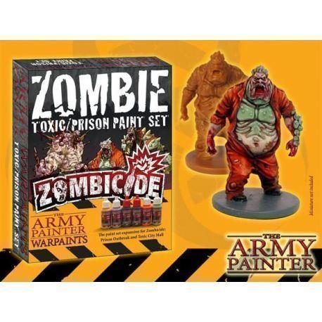 Zombie Toxic Prison Paint Set