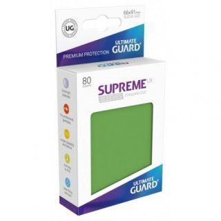 Fundas Supreme UX Color Verde (80 unidades)