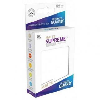 Fundas Supreme UX Mate Color Blanco (80 unidades)
