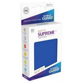 Fundas Supreme UX Mate Color Azul (80 unidades)