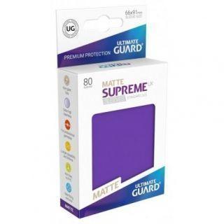 Fundas Supreme UX Mate Color Violeta (80 unidades)
