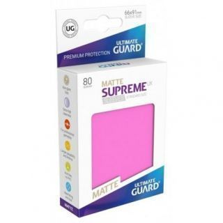 Fundas Supreme UX Mate Color Fucsia (80 unidades)