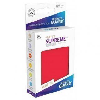 Fundas Supreme UX Mate Color Rojo (80 unidades)