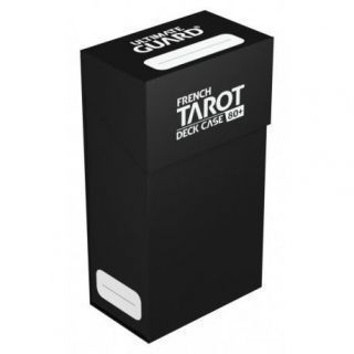 French Tarot Deck Case 80+ Negro