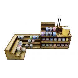 Fidalgo p36 Racks para pintura modelismo y wargames