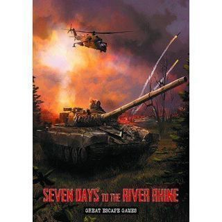Seven Days to the River Rhine Rule Book & Card Deck
