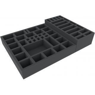 Foam tray set for Necromunda: Underhive boardgame box