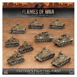 Patton's Fighting First (plastic)