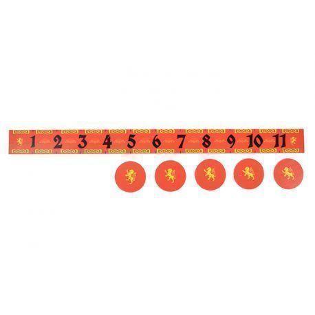 Lion Measuring Ruler& Objetives