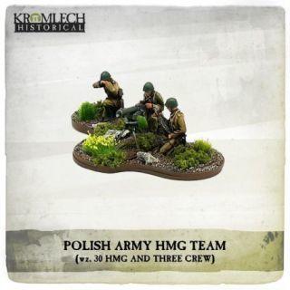 POLISH ARMY 30 MACHINE GUN