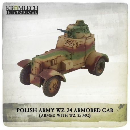 POLISH ARMY 34 ARMORED CAR